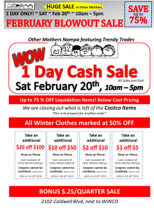 Other Mothers Nampa FEB COUPON 3rd Saturday